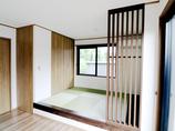 増改築リフォームデザイン性を重視しつつ機能性にも優れた和モダンな空間